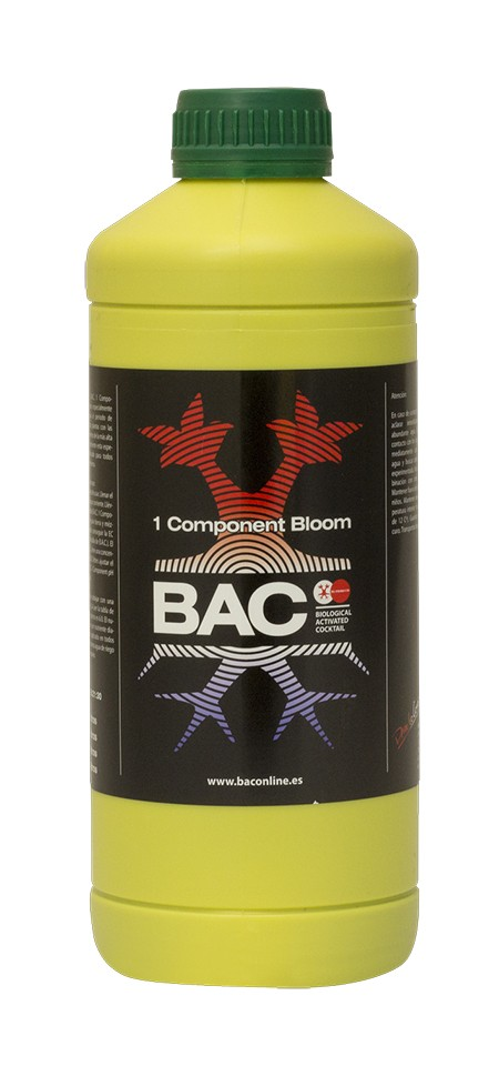 ONE COMPONENT SOIL BLOOM NUTRIENT 1 L BAC