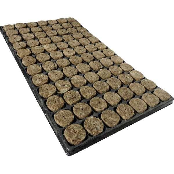 Bandeja lana de roca GREEN 84alv. 38x40mm