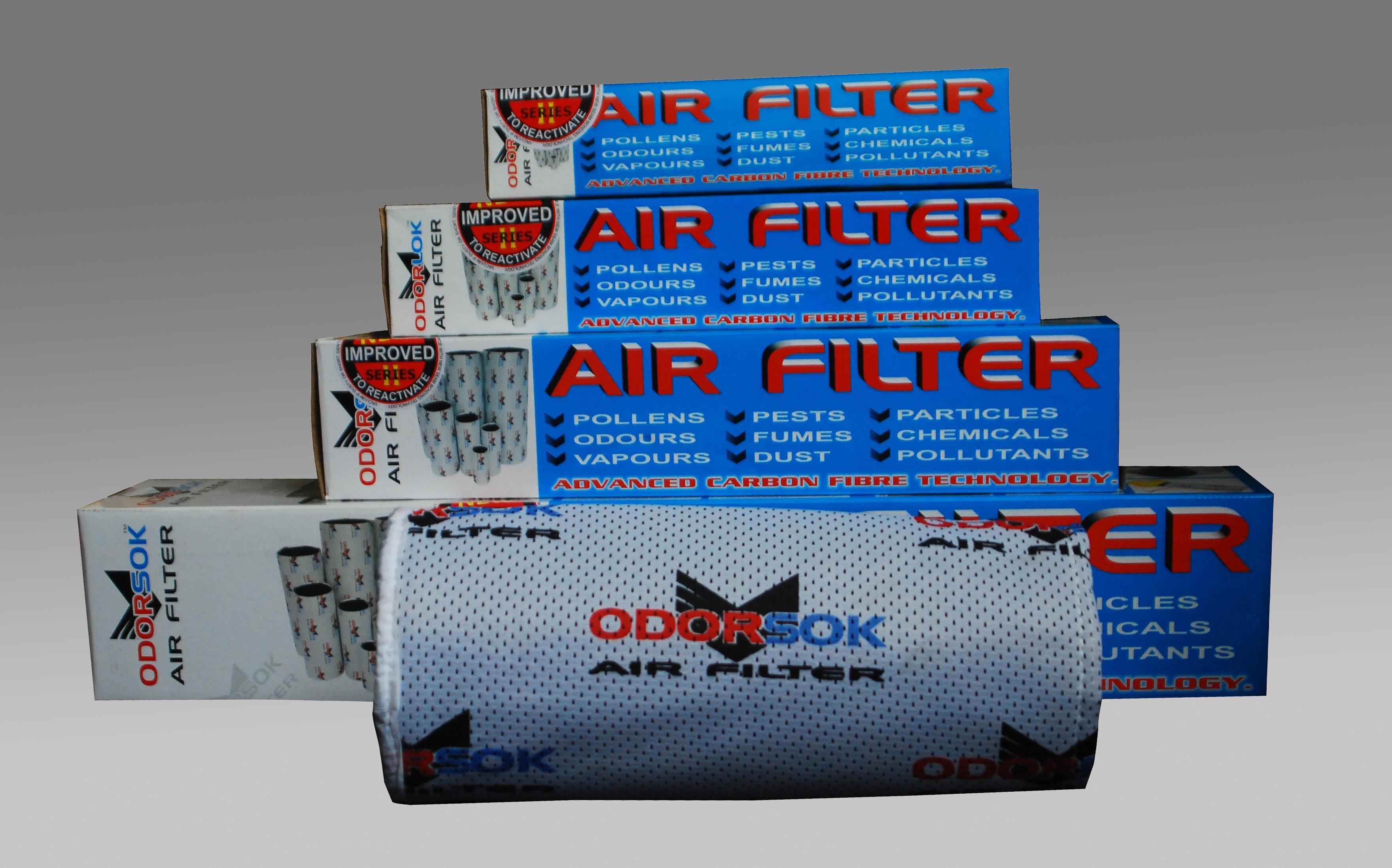 Filtro Odorsock 150/600 (534 M3)