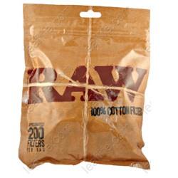 Filtros Raw 100% Algodón (200 unidades)