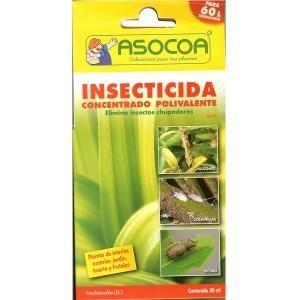 Insecticida Concentrado polivalente, 30 ml.