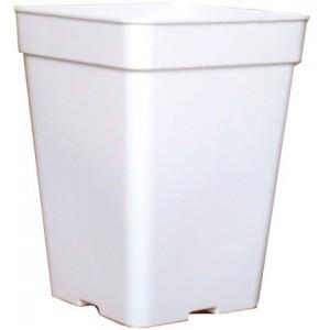 Maceta Cuadrada Blanca 18x18x25,5 (5,5l)