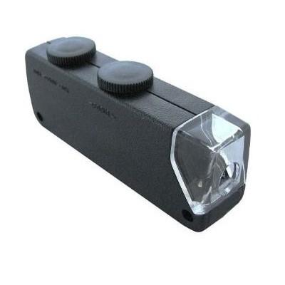 Microscopio portátil con LED 60x-100x