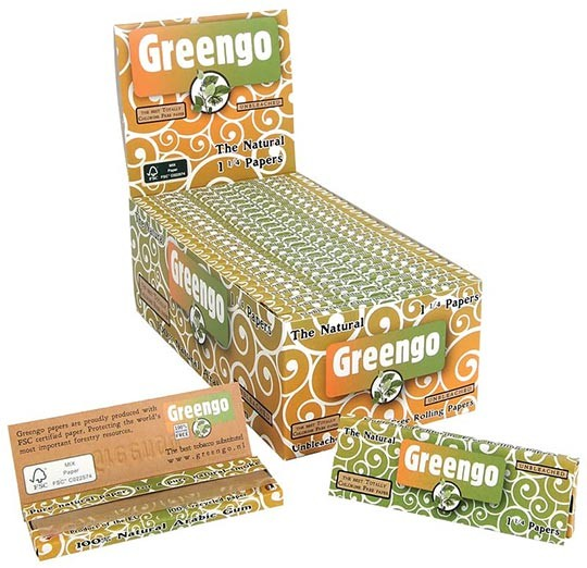 Papel natural Greengo 1 1/4