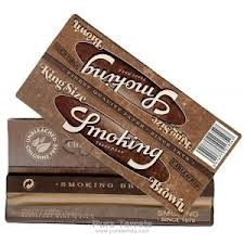 Papel De Fumar Smoking Brown King Size