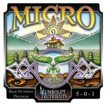 3-Part Micro 0,5L. (16oz) Humboldt