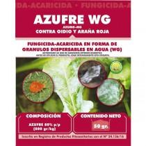 Azufre WG 50gr. Masso